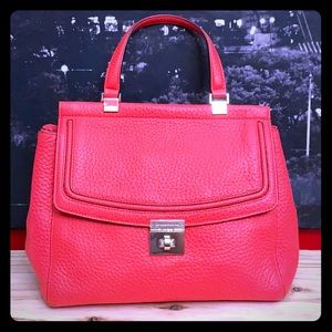 Beautiful Kate Spade Coral Leather bag